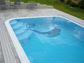 Bazény s přelivem - obdélník