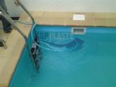 Vnitřní bazény bez přelivu (skimmer)