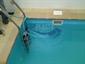 Interiérový bazén se skimmerem